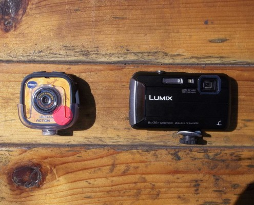 Cameras for aerial imaging